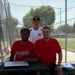 左・スミス 右・ショーン・オコネロ(シカゴホワイトソックス ドラフト15巡目